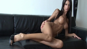 Fucking escorted by young czech brunette Nessa Devil