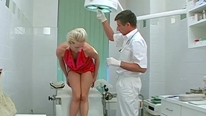 Very nice doctor forced got nailed