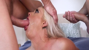 Gangbang with busty housewife Holly Heart