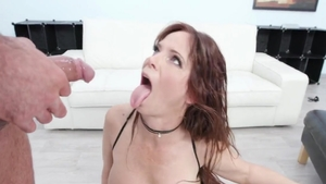 Rough ramming hard together with big boobs hooker Syren De Mer