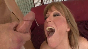 Large tits Darla Crane mature caning sex tape