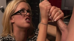 Katie Morgan alongside Katie Kox creampied