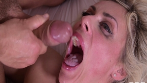 Big boobs Brittany Bardot double penetration ass pounded