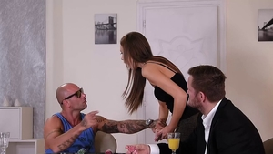 Group sex together with Tina Kay & Mike Angelo
