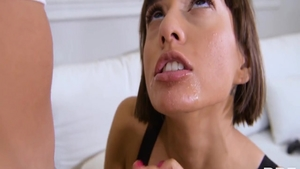 Shaved Janice Griffith pussy fucking in sexy lingerie