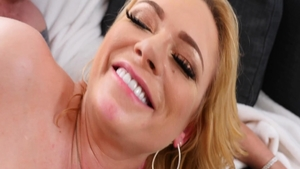 Blonde Briana Banks gonzo ass pounded