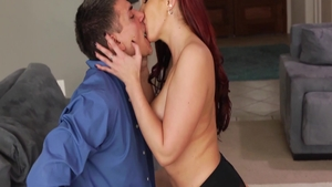 Big butt and hottest Kelly Divine blowjob