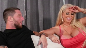 Doggy style on the couch HD