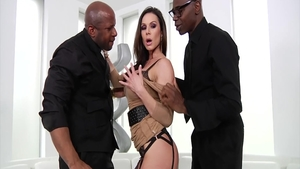 Mature Kendra Lust sucking dick