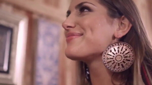 August Ames wearing high heels nailed rough