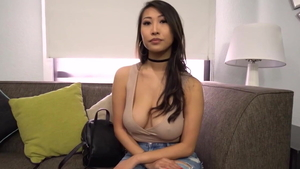 Titty fucking at casting