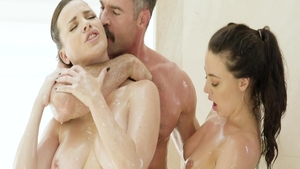 Sex scene escorted by super hot brunette Whitney Wright