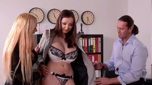 Tight girl Lucie Wilde gets a buzz out of nailed rough in HD