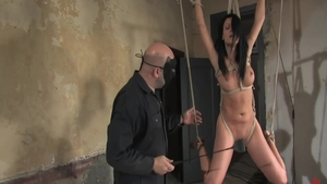 BDSM young babe Victoria Sin