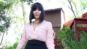 Very sensual & naughty Violet Starr ass fucked