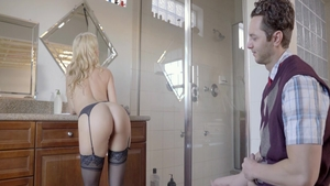 Alexis Fawx and hawt blonde Lily Rader ass fucked video