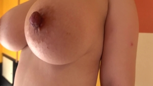 Busty asian babe wishes for rough loud sex