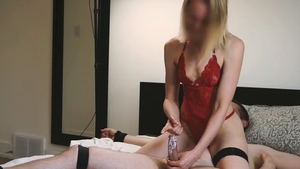 Sloppy fucking along with trimmed pussy mistress