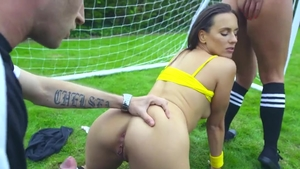Real fucking together with Amirah Adara & Mea Melone