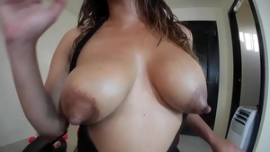 Nailing along with young colombian pornstar