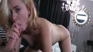 Good fuck escorted by young blonde Haley Reed