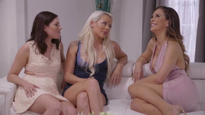 Emily Willis with India Summer threesome in HD