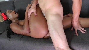 Cumshot sex scene together with big ass rough Chanell Heart