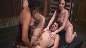 Ramming hard alongside filthy MILF Daisy Ducati