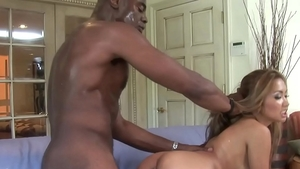 Hard nailining in company with very hot asian amateur