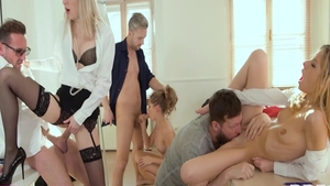 Hungarian coed Rebecca Volpetti being fucked by Ian Scott