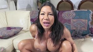 Solo wet and busty Ava Devine pussy fuck