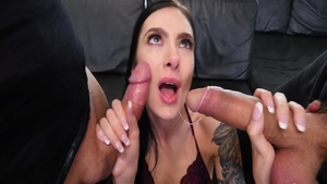 Young Marley Brinx pussy eating