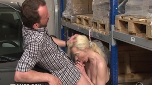 Perfect french babe good fuck in a taxi