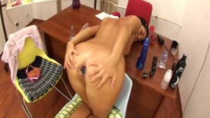 Nailing starring super sexy brunette