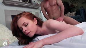 Plowing hard with redhead