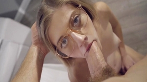 Horny Alyce Anderson ass fucking sucking cock