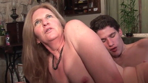 Nailing young stepmom in tight stockings