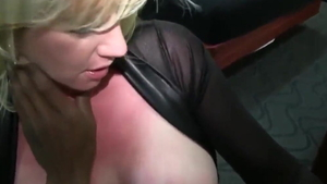 Hard ramming with busty blonde