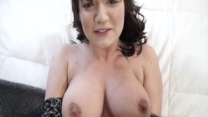 Plowing hard along with busty mature Charlotte Cross