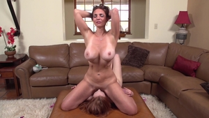 Big tits mature Mindi Mink gets plowed