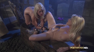 Dirty Alexis Ford playing with toys video