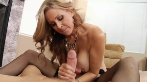 Rough sex in the company of pornstar Julia Ann