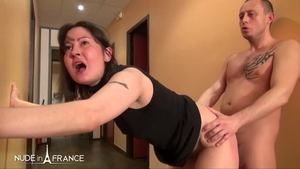 Anal fucked in office