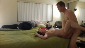 First time hard sex escorted by big ass babe