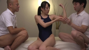 Competition among kinky japanese in speedos HD