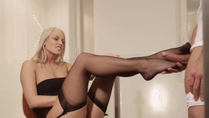 Nailing in the company of very kinky czech blonde babe