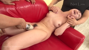 Threesome hairy asian