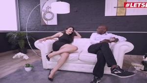 Sex in the company of gorgeous italian brunette