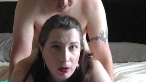 Slamming hard in the company of hairy deutsch housewife