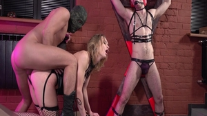 Mistress Loren Strawberry craving BDSM in sexy lingerie